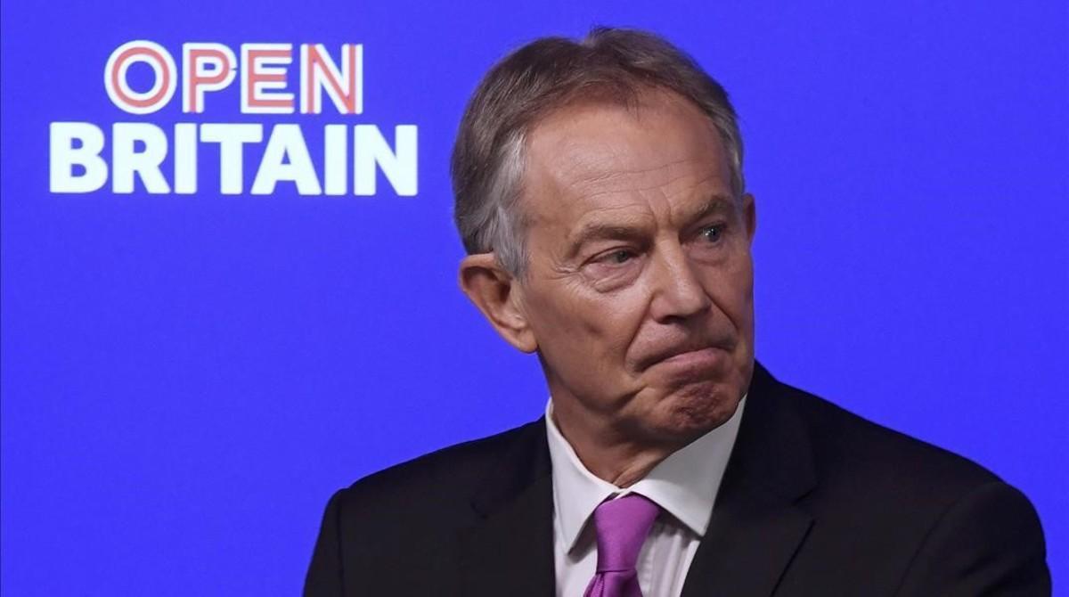 Blair aún ve posible evitar un 'brexit' duro