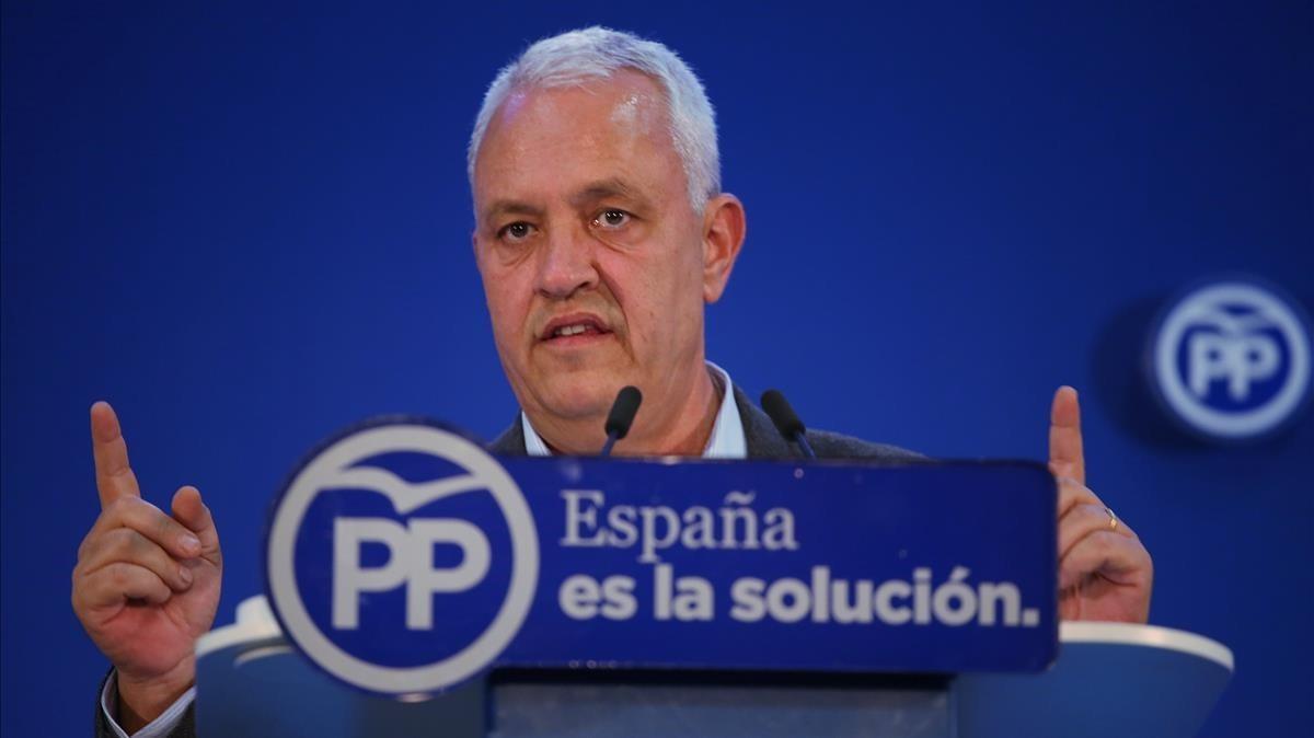 El secretario general del PPC, Santi Rodríguez.