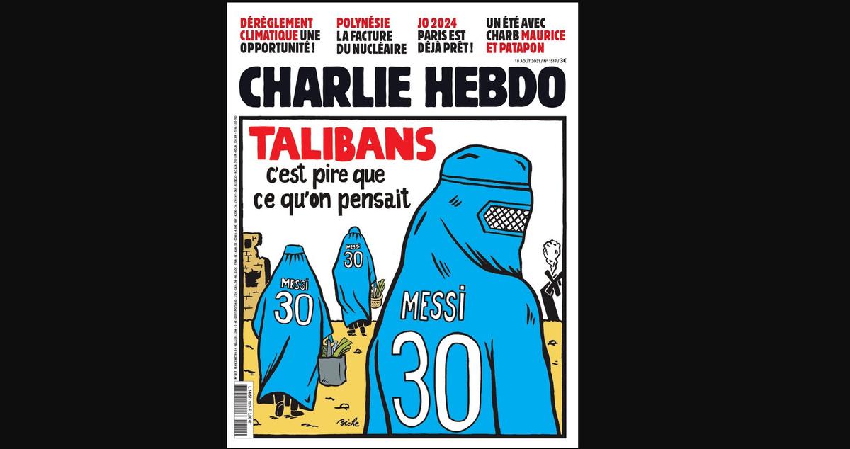 La nueva portada de la revista satírica francesa, Charlie Hebdo
