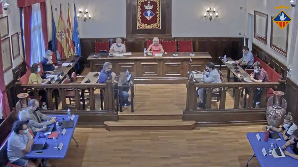 Esplugues recupera los plenos municipales presenciales