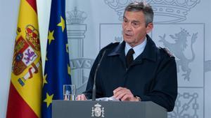 Miguel Ángel Villarroya, jefe del Estado Mayor de la Defensa.