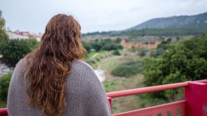 Una de las tres víctimas de violencia machista que han explicado su dura experiencia a este diario.