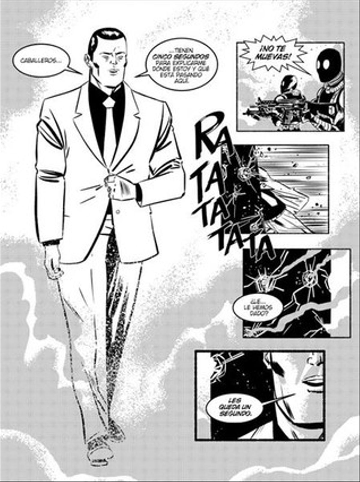 Página de '¡García!'.