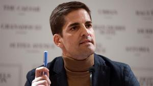 Robert Moreno, en la comparecencia de prensa para responder a Luis Enrique.