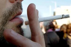 Un fumador.