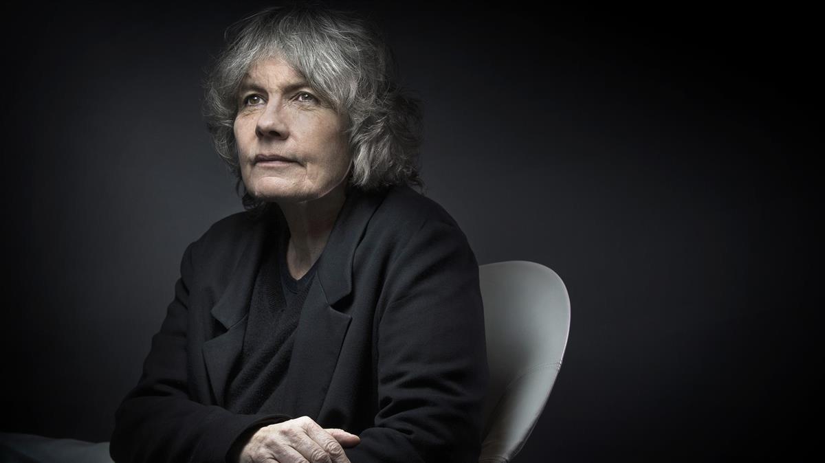 La escritora francesa de novela policíaca Fred Vargas.
