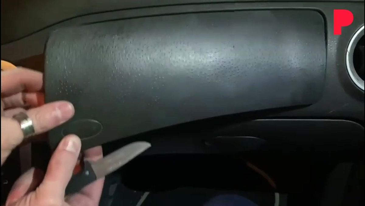 Sistemas para ocultar droga en un vehículo.