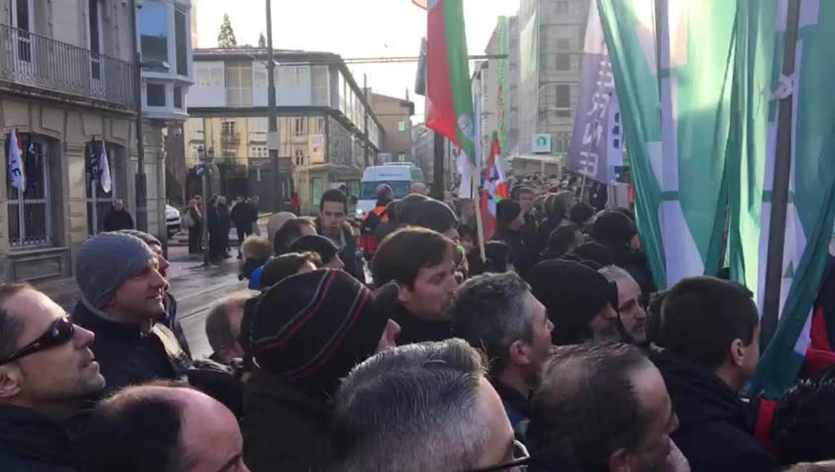 Protesta de ertzainas