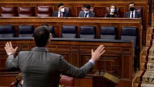 La majoria de grups del Congrés aplaudeix el gest de distensió de Junqueras