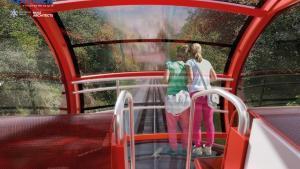 El funicular del Tibidabo doblarà la capacitat i es convertirà en atracció