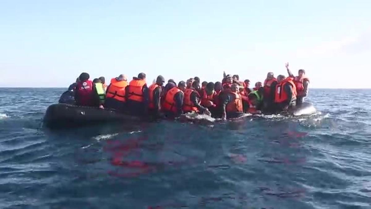 Vídeo de Médicos Sin Fronteras sobre la gestión de la UE del flujo de refugiados.