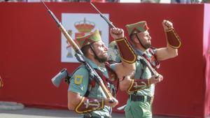Desfile de Fuerzas Armadas el pasado 12 de octubre.