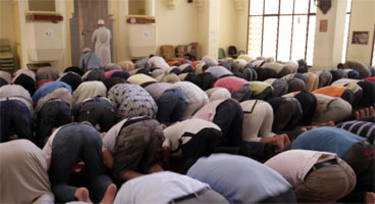 Oración, mezquita.