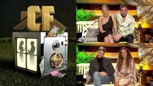 Sandra, Tom, Tony y Sonia Monroy, nominados de 'La casa fuerte 2'.