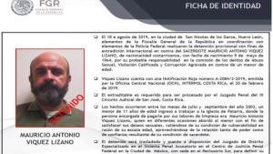 Mauricio Víquez, sacerdote católico detenido por abusos sexuales y pederastia.