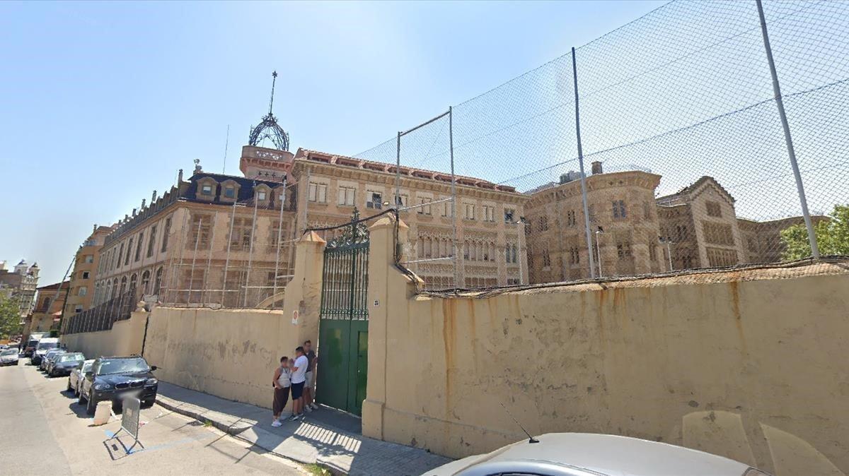 Captura del colegio de la Salle de Bonanova de Barcelona.