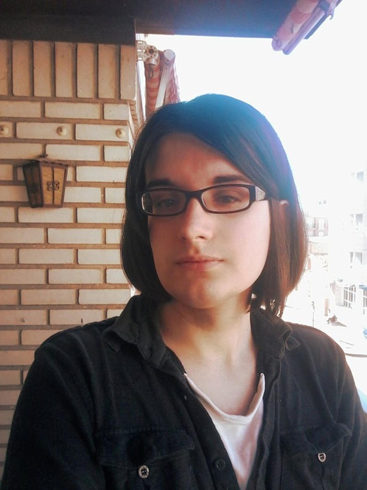 Cassandra, en una imagen colgada en su cuenta de Twitter.