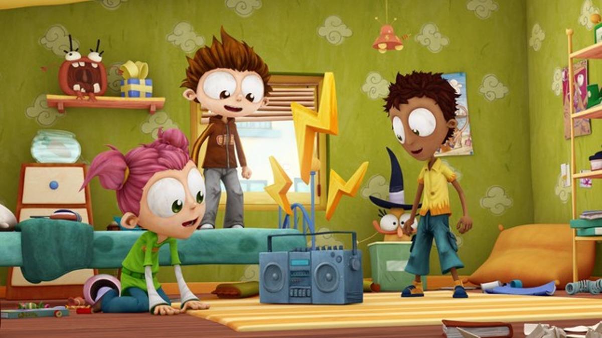 Imagen de la serie del Super 3 'Quin crac, l'Angelo!'