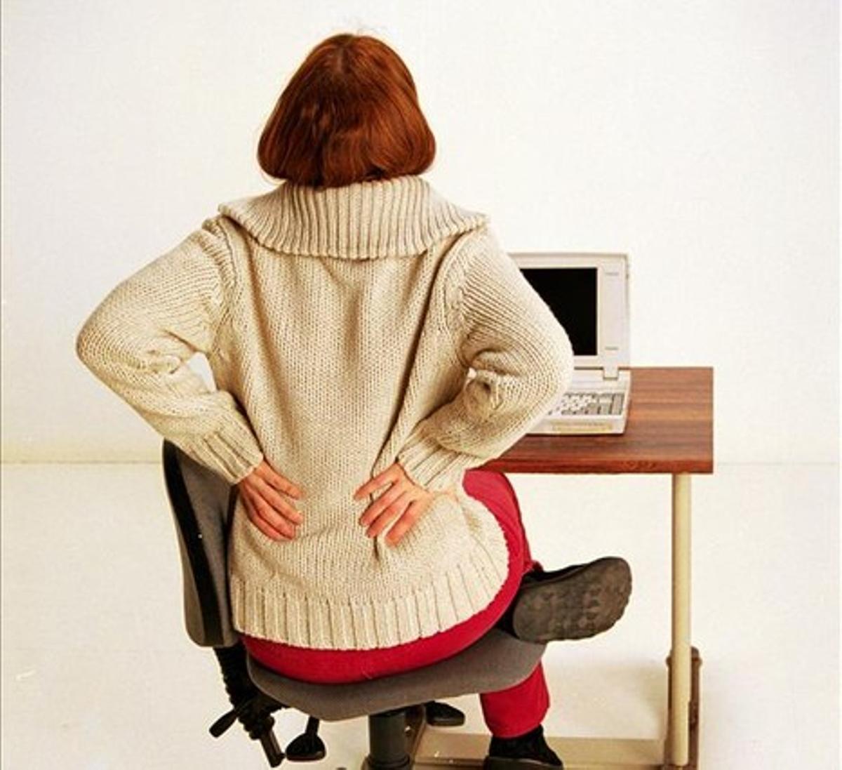 Una mala postura corporal