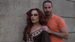 Marc Ferrer y La Prohibida, fotografiados este viernes en Barcelona