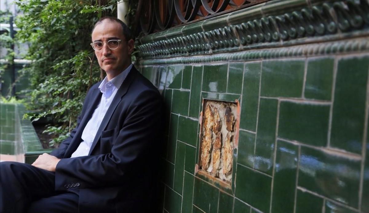 El exconcejal de CiU, Antoni Vives, en octubre pasado.