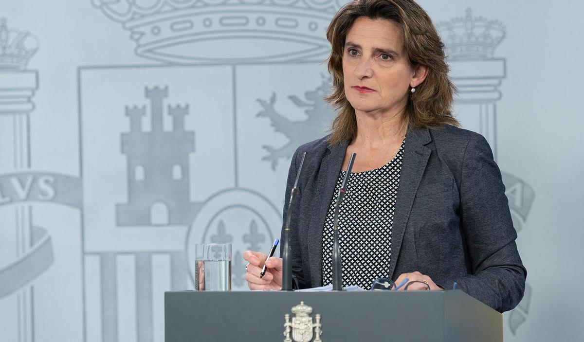 Teresa Ribera, ministra para la Transición Ecológica y el Reto Demográfico