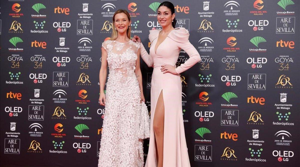 María Esteve y Celia Flores, las hijas de Marisol.