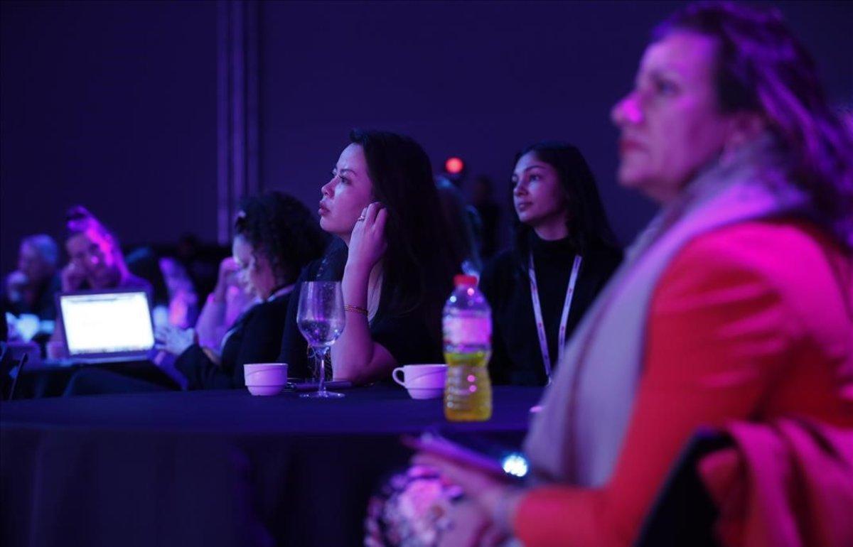 Participantes del Women4tech en el Mobile World Congress 2019.