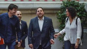 Els indultats d'ERC viatjaran aquest dimecres a Ginebra per retrobar-se amb Marta Rovira