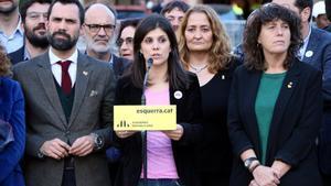La ejecutiva de ERC comparece tras la decisión sobre Junqueras.