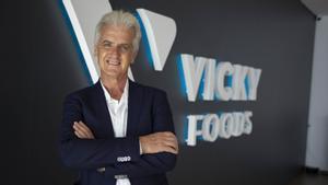 Rafael Juan, consejero delegado de Vicky Foods, en la planta de Gandia.