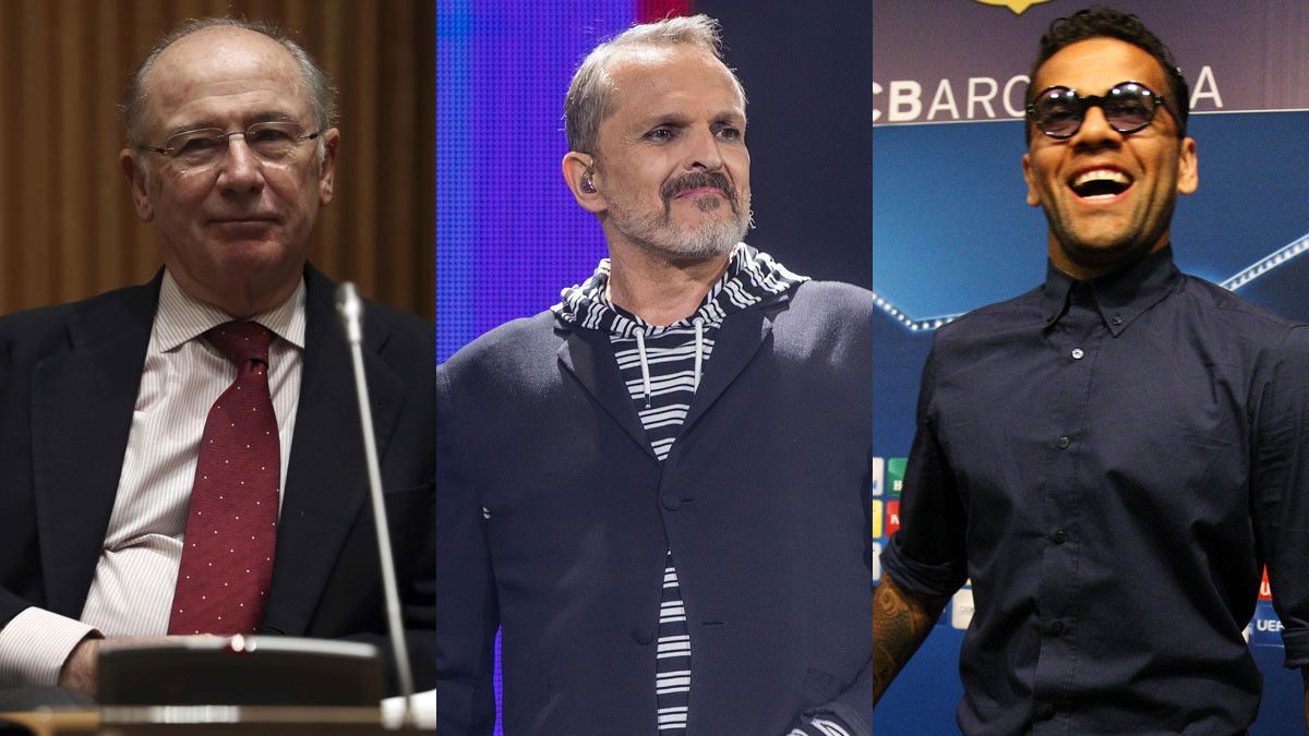 Rato, Bosé y Alves.