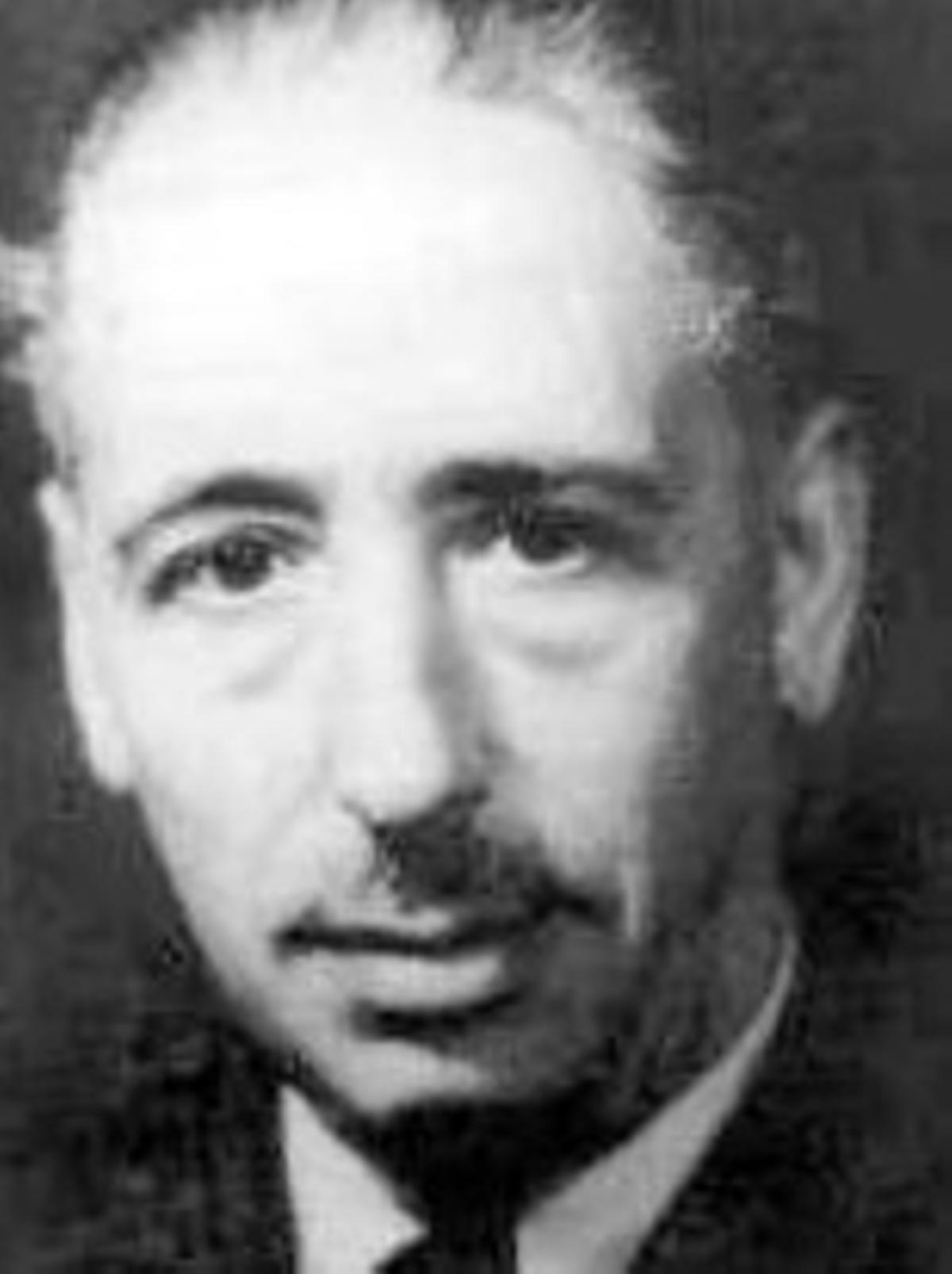 Lluís Companys, president de la Generalitat republicana.