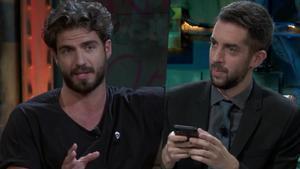 Maxi Iglesias y David Broncano en 'La resistencia'.