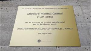 El Poliesportiu Municipal del Centre de l'Hospitalet porta ja el nom de Marcel·lí Maneja