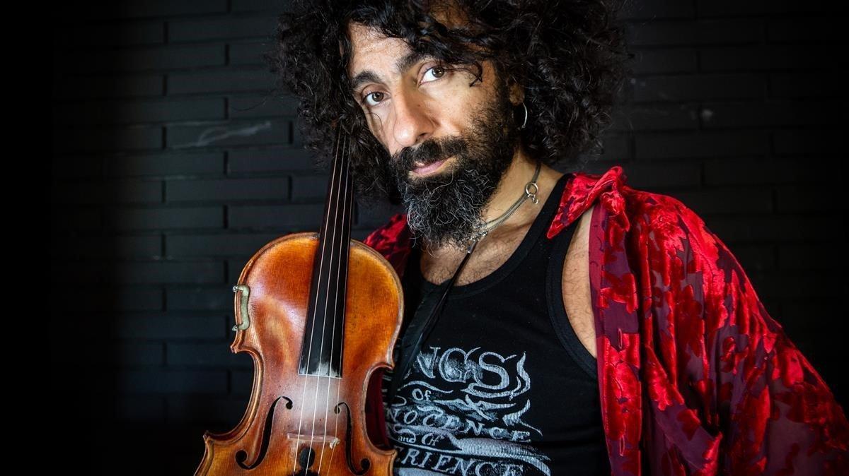 Ara Malikian, fotografiado en Barcelona