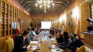 Conferencia entre el Estado y las comunidades autónomas sobre Memoria Histórica en febrero de 2019.