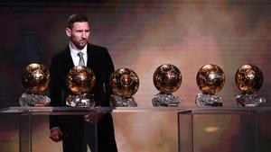 Messi conquista la seva sisena Pilota d'Or