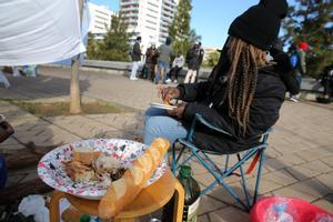 Ultimátum municipal, de 24 horas, al campamento improvisado en el barrio del Gorg