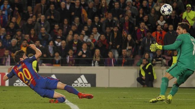 Les imatges de la remuntada del Barça
