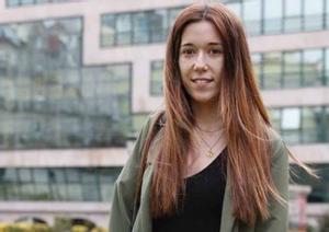 Inés Iglesias, de 26 años, sufre covid persistente