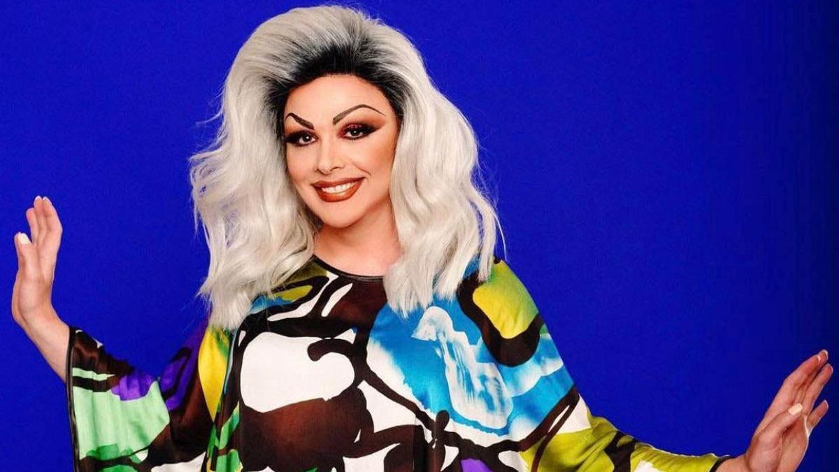 Supremme de Luxe, icono 'drag' y presentadora de 'Drag race'.