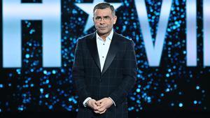 Jorge Javier Vázquez en el plató de 'GH VIP'.