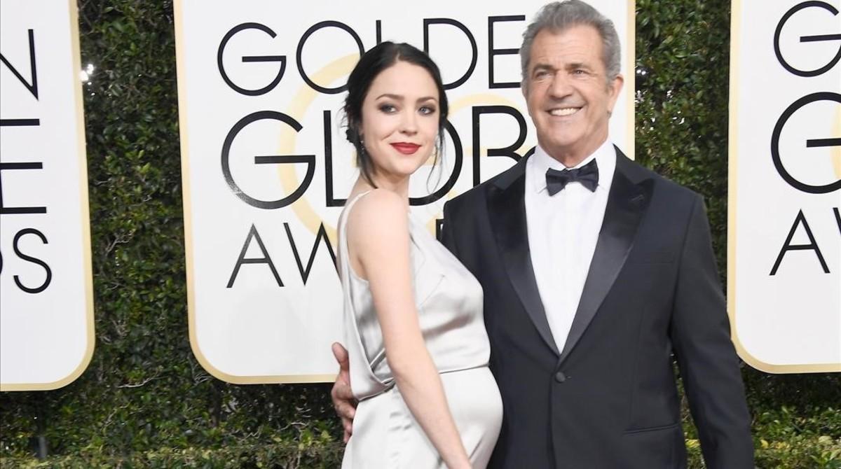 Mel Gibson y Rosalind Ross, el pasado 8 de enero.