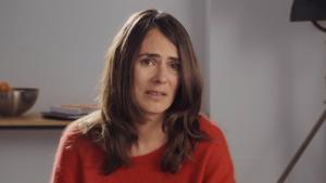 Anna Allen, en su monólogo de 'Paquita Salas'.