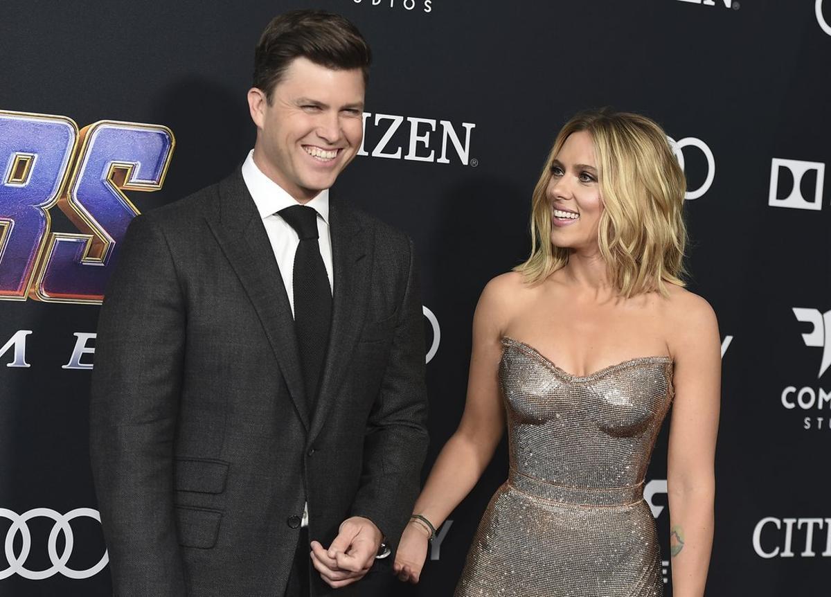 Scarlett Johansson espera su primer hijo en común con Collin Jost