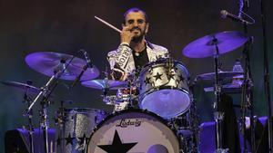 Ringo Starr, l'eco de la 'beatlemania'