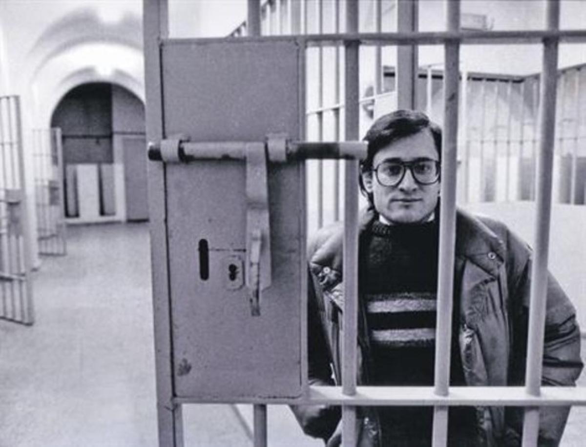 Xavier Vinader, en Carabanchel.