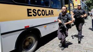 Tiroteo con muertos, la mayoría niños, en una escuela a las afueras de Sao Paulo, Brasil.