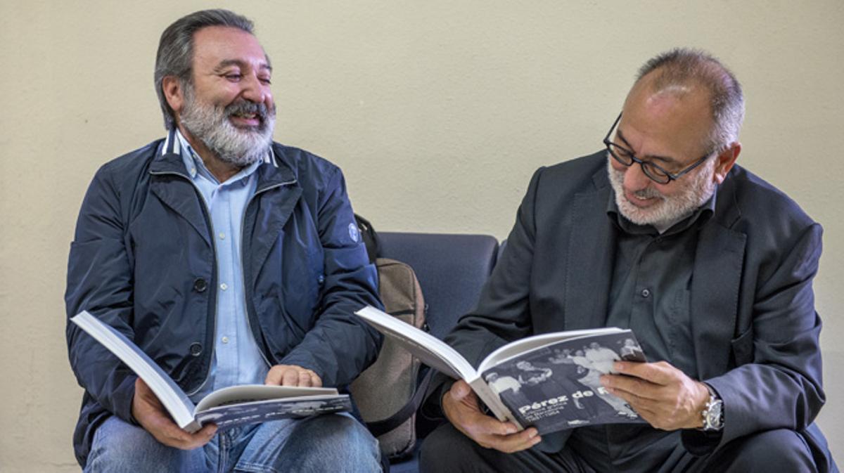 Emilio y Carlos Pérez de Rozas, nietos del patriarca de la saga, hablan sobre su abuelo.
